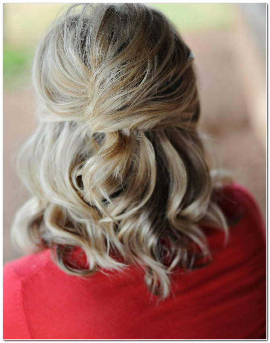Frisuren Halboffen Mittellang