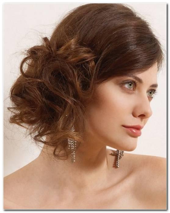 Frisuren Kurze Haare Hochstecken