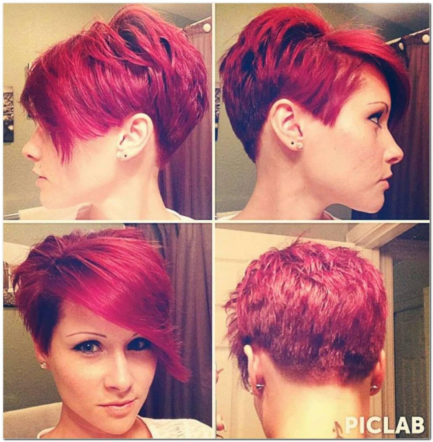 Frisuren Kurzhaar Rot