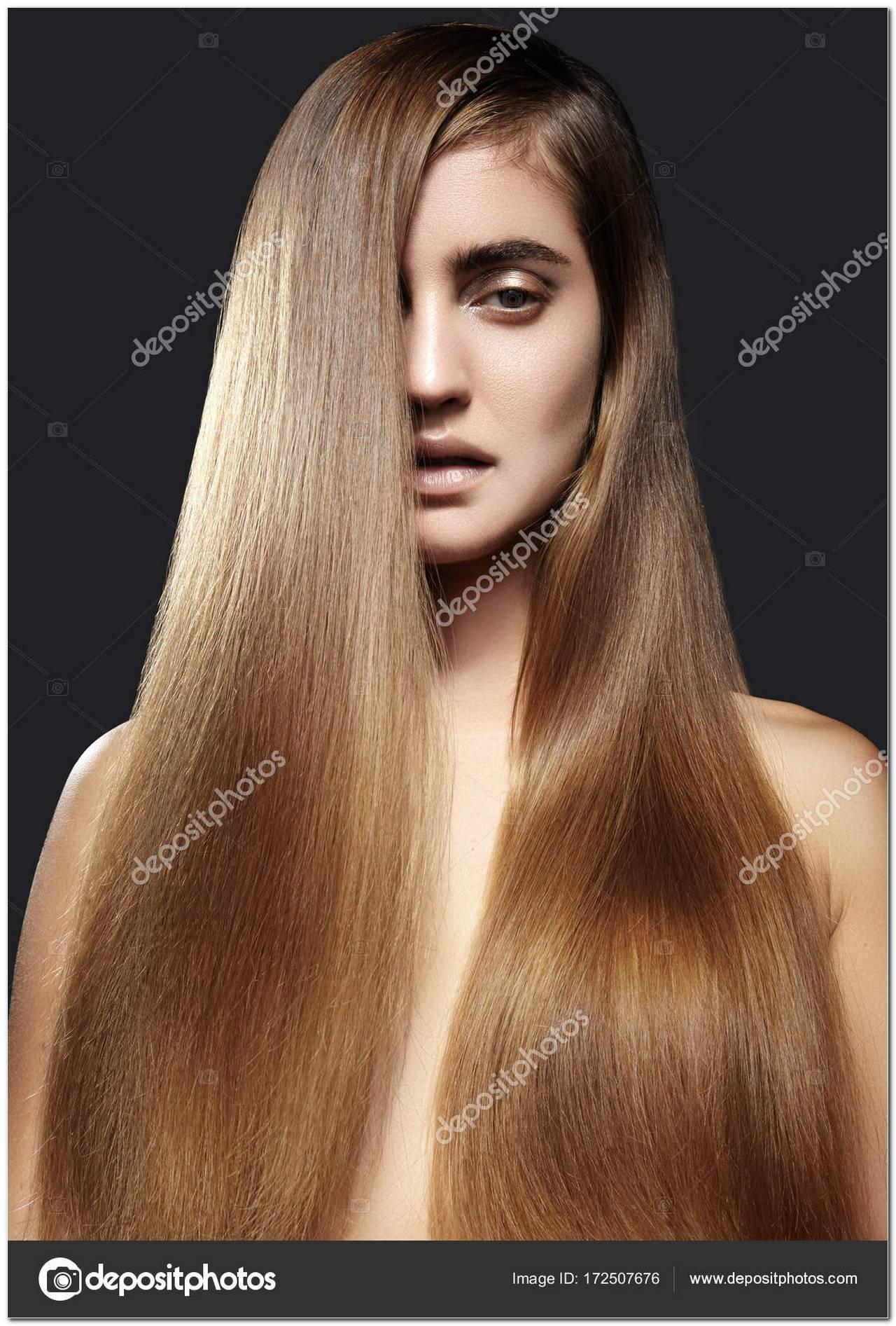 Frisuren Lange Glatte Braune Haare