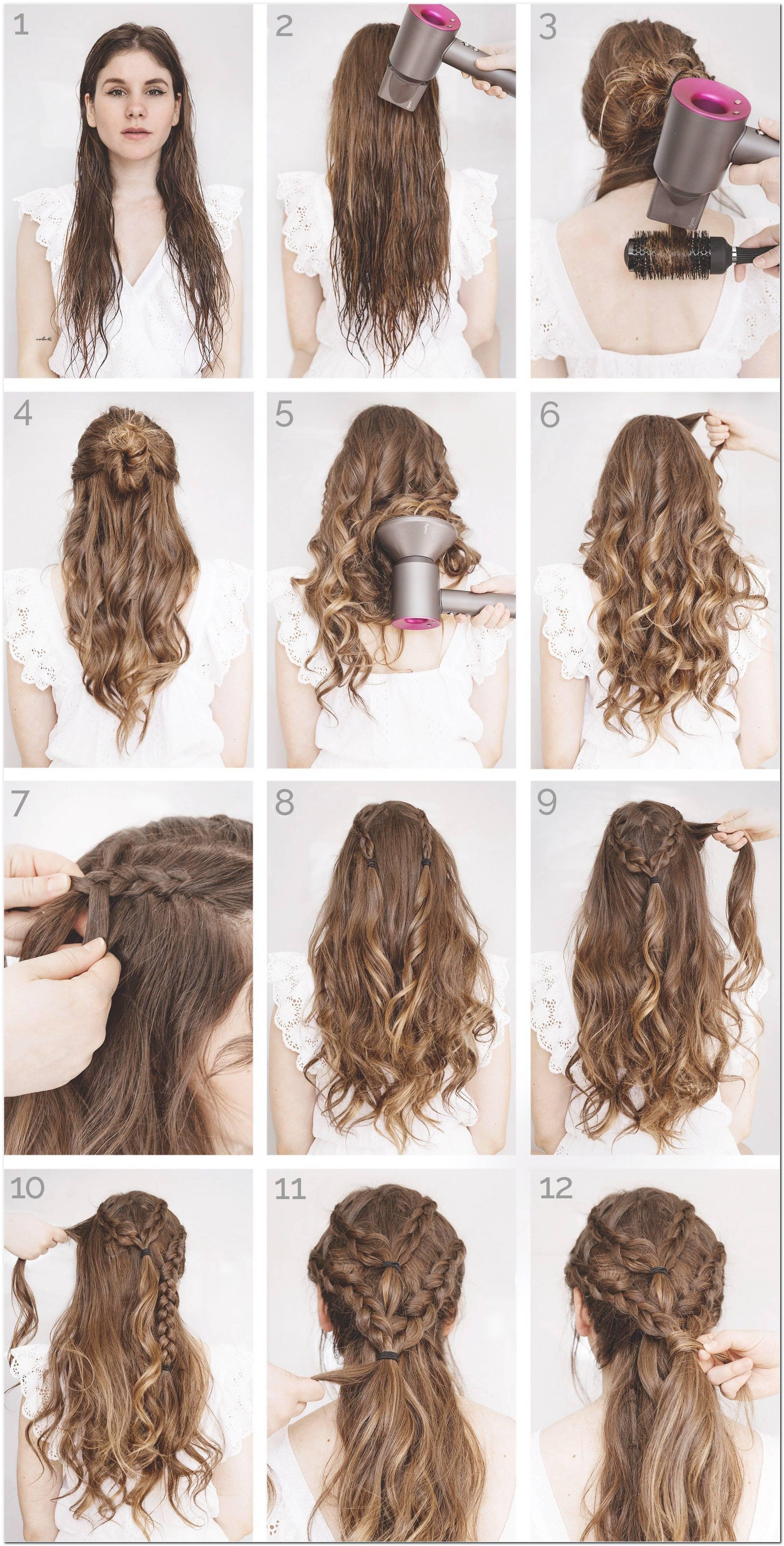 Frisuren Lange Haare Flechten Selber Machen