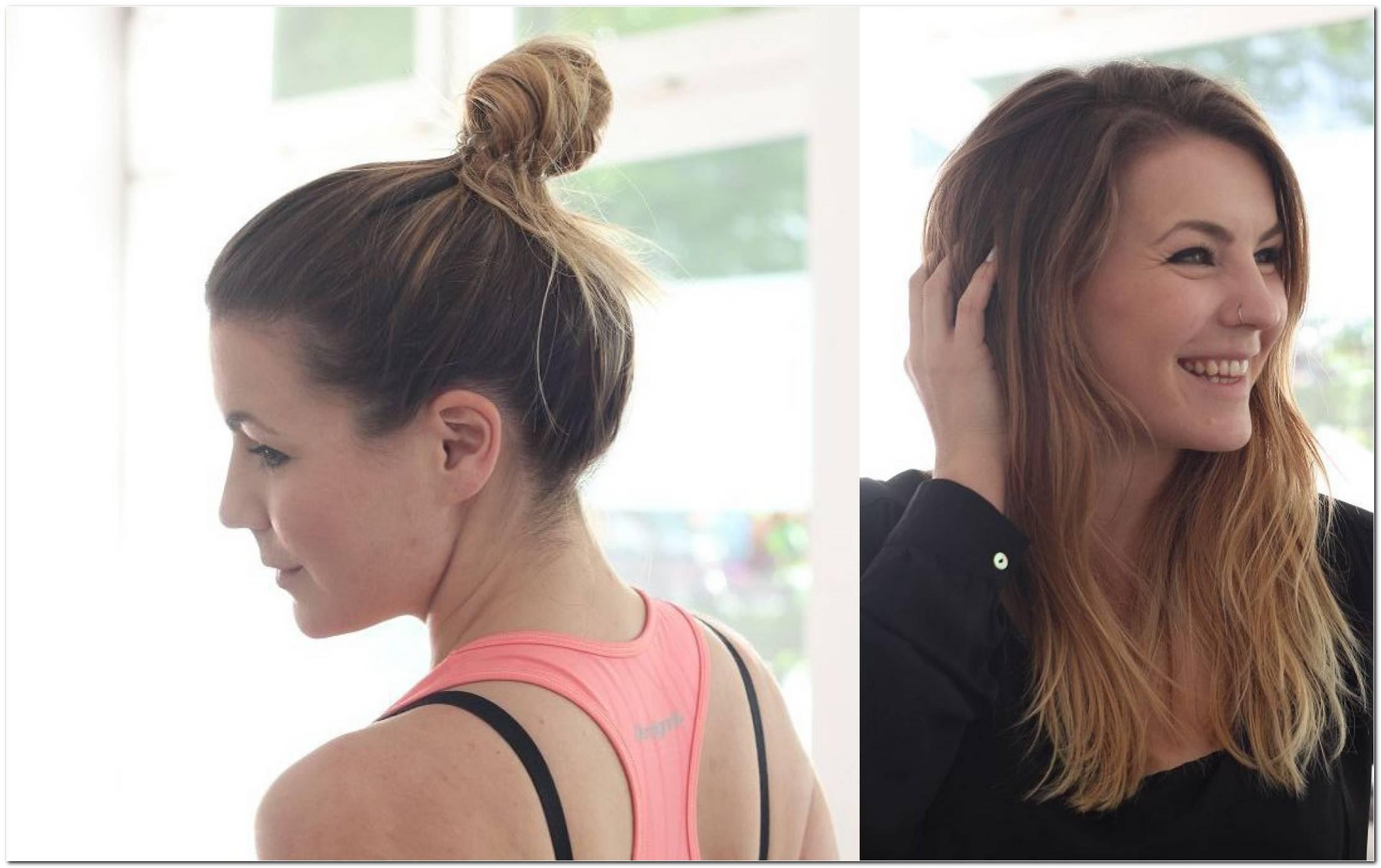 Frisuren Lange Haare Sport