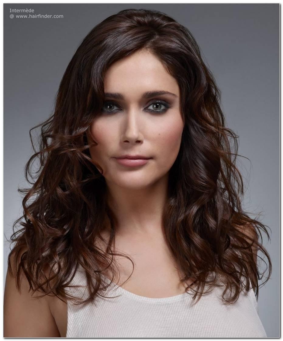 Frisuren Lange Haare Stufen Locken