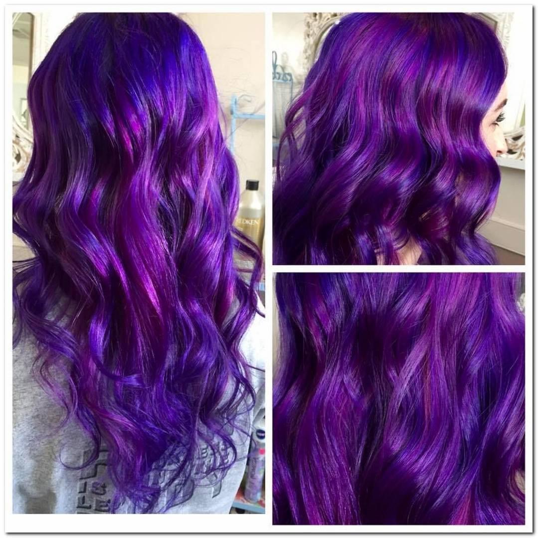 Frisuren Lila Pink