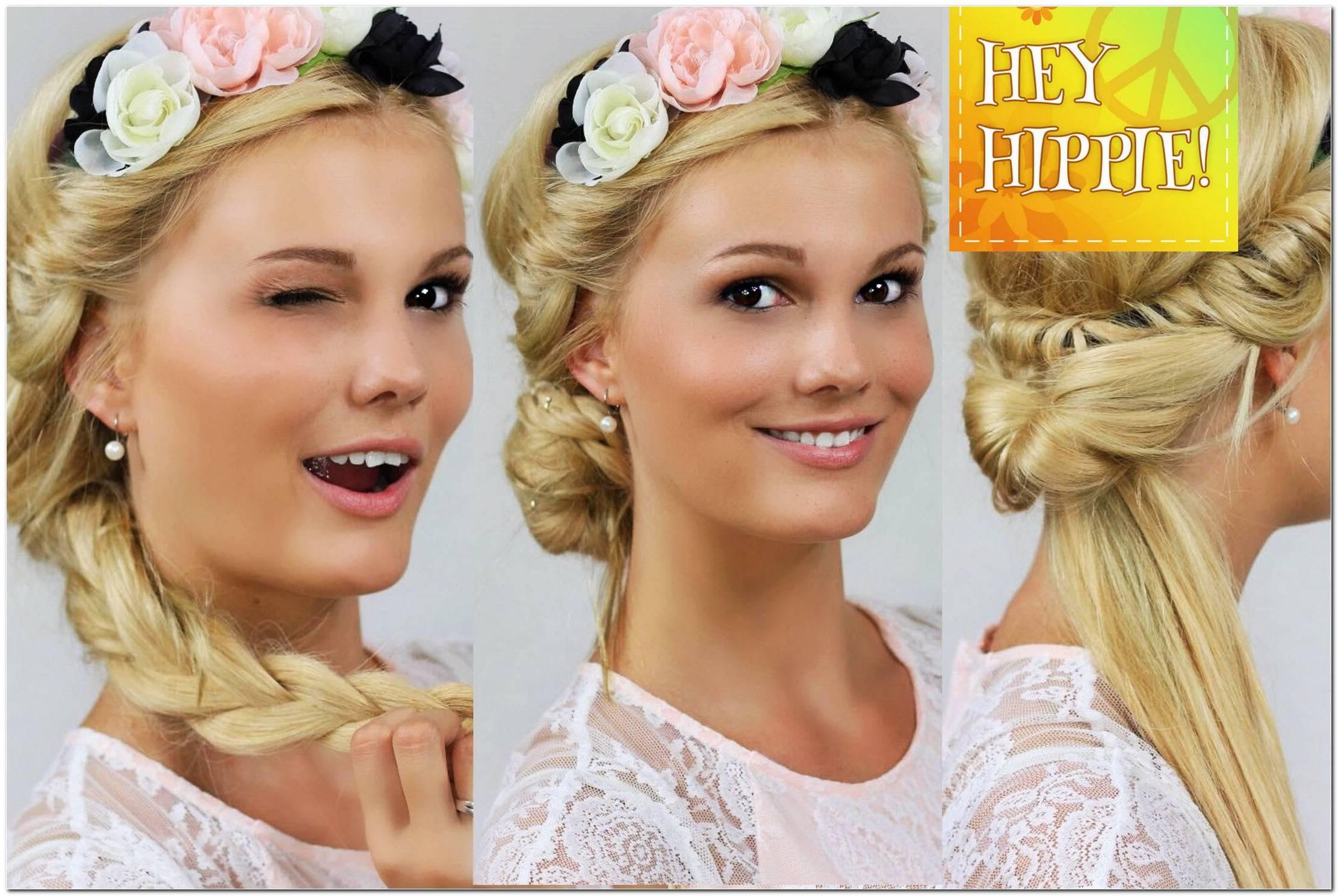 Frisuren Mit Blumen Haarband