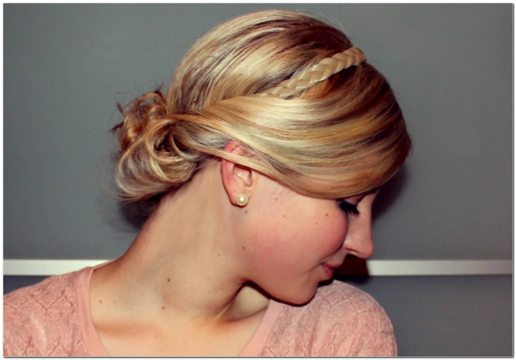 Frisuren Mit Geflochtenem Haarband