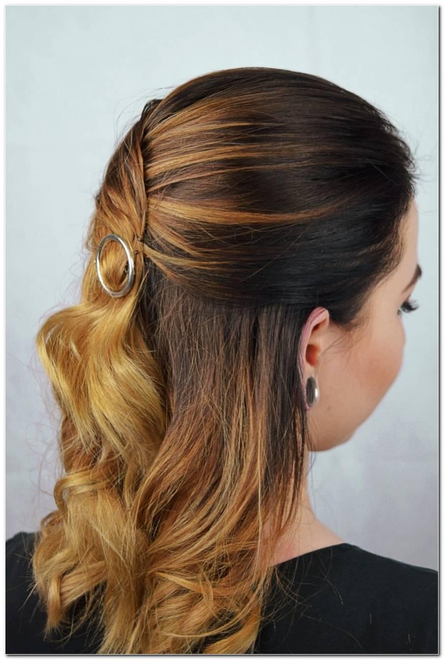 Frisuren Mit Haarspange