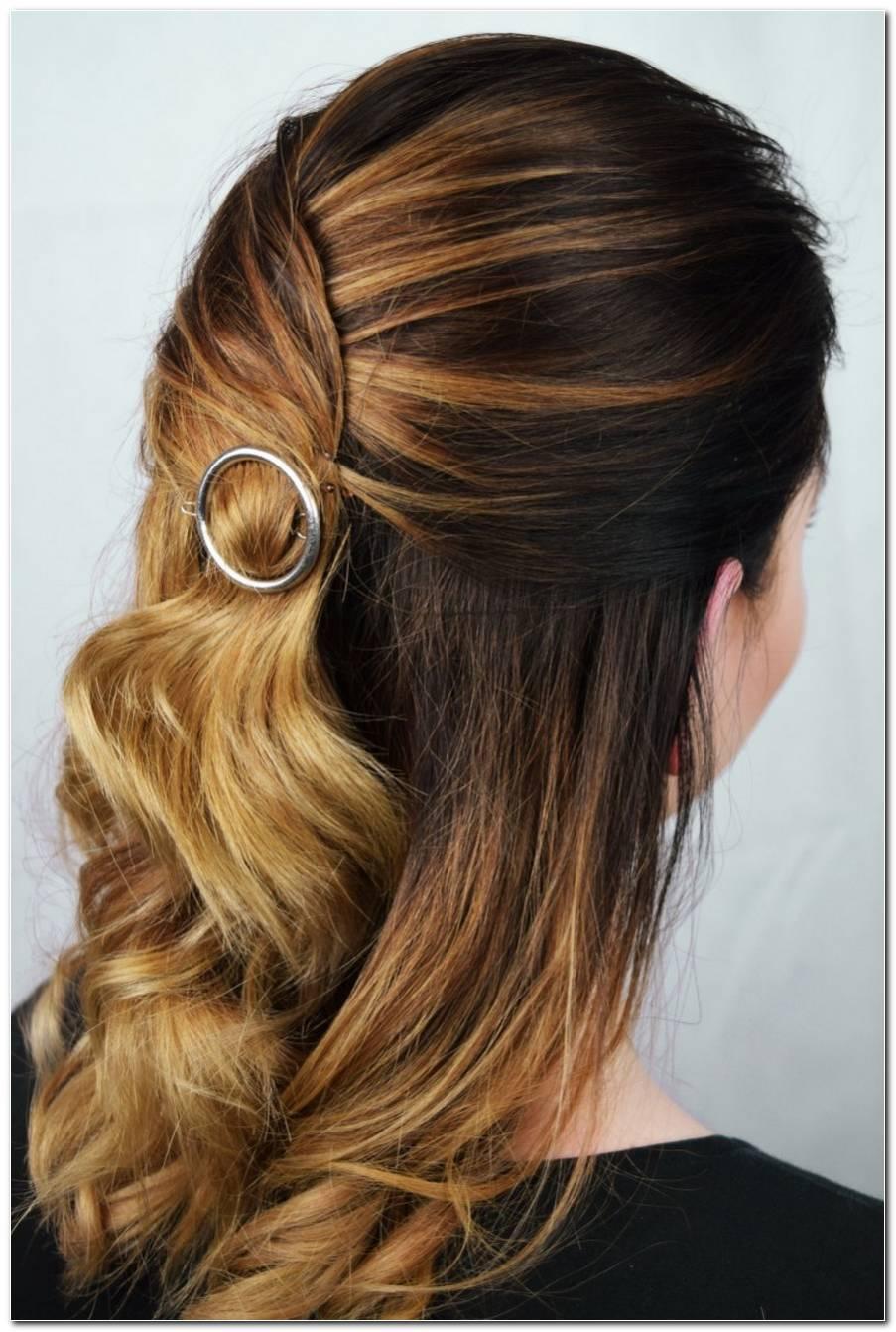 Frisuren Mit Haarspangen