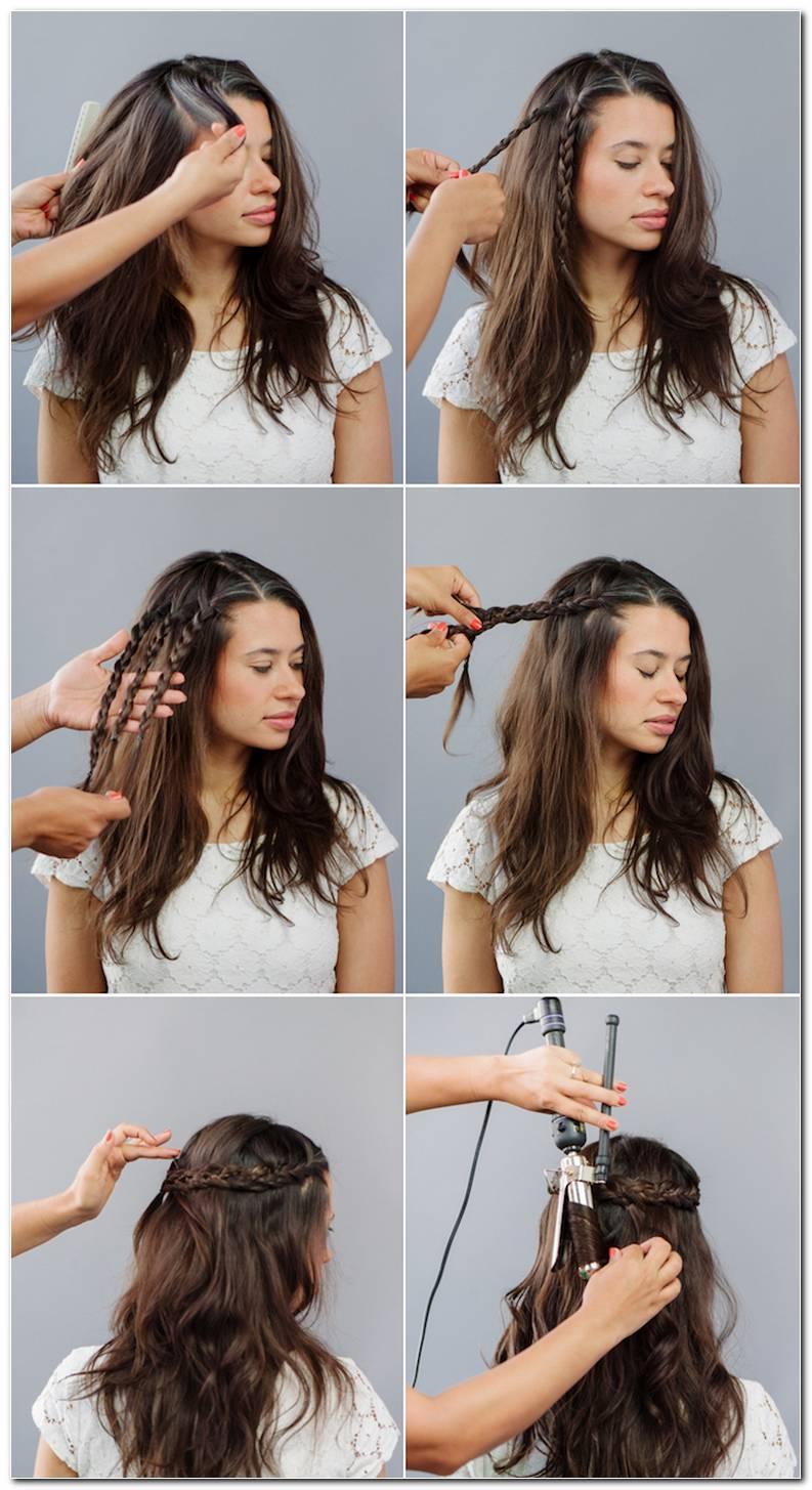 Frisuren Mit Lockenstab Machen