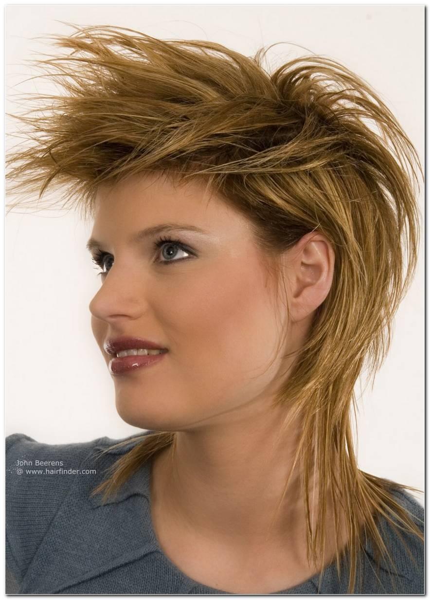 Frisuren Mittellang Mit Fransen