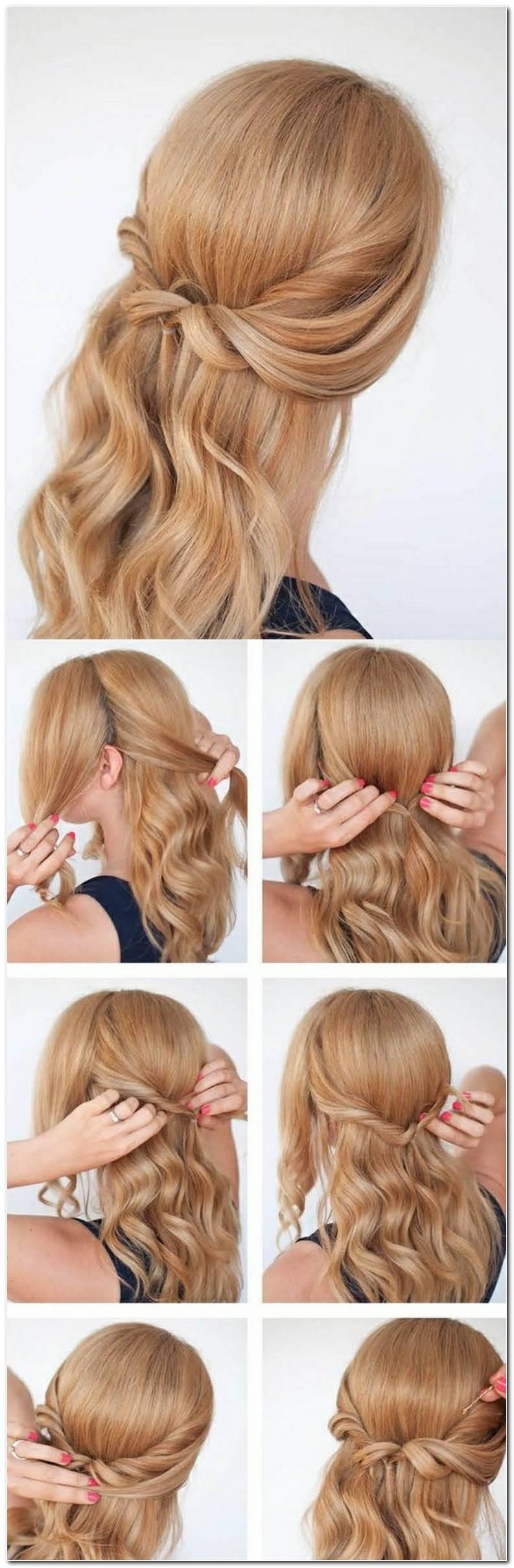Frisuren Mittellanges Haar Flechten Selber Machen