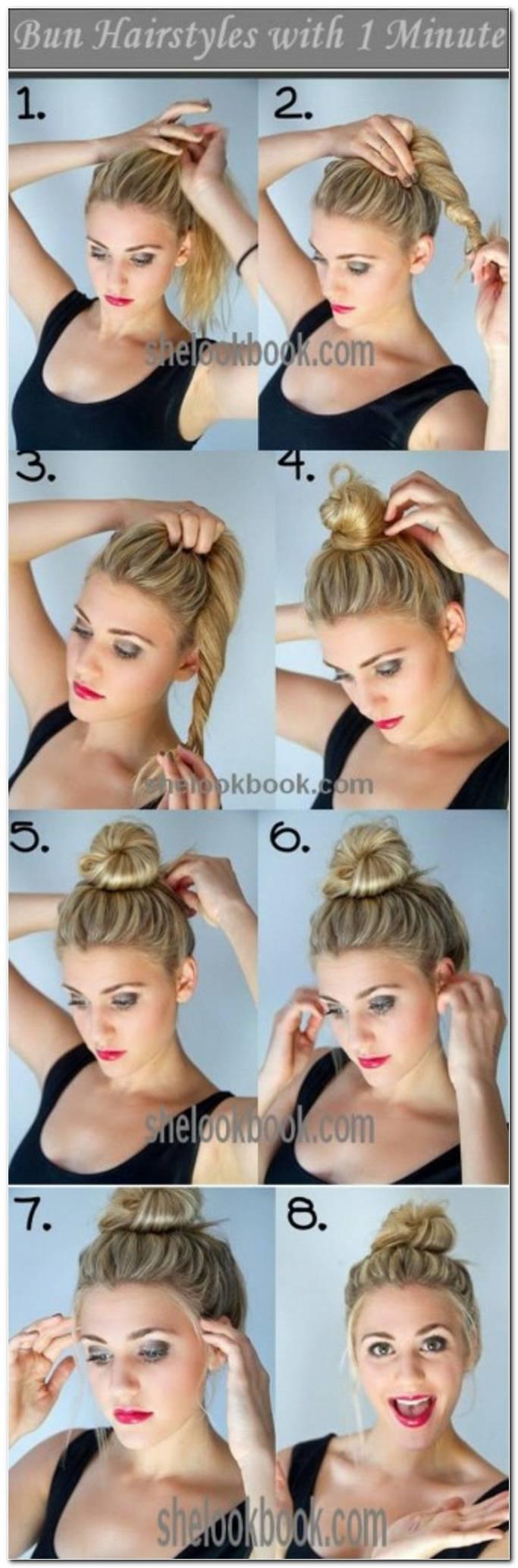 Frisuren Schnell Und Einfach Selber Machen