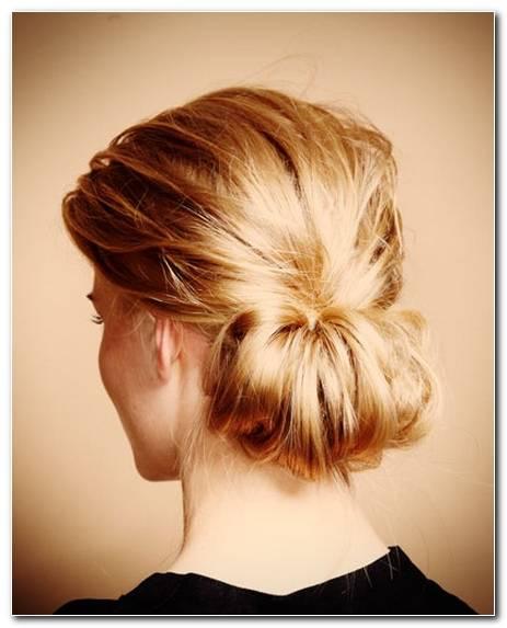 Frisuren Schulterlanges Haar Hochstecken