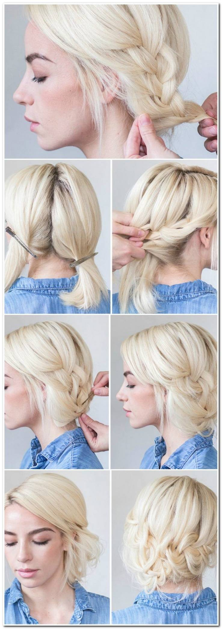Frisuren Selber Machen Anleitung Kurze Haare