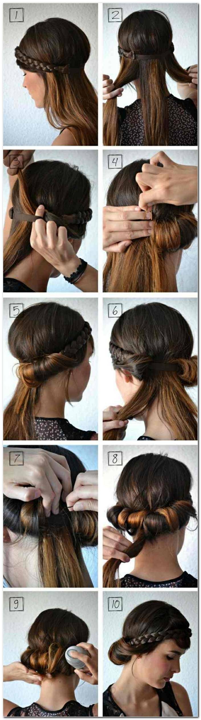 Frisuren Selber Machen Lange Haare Zopf