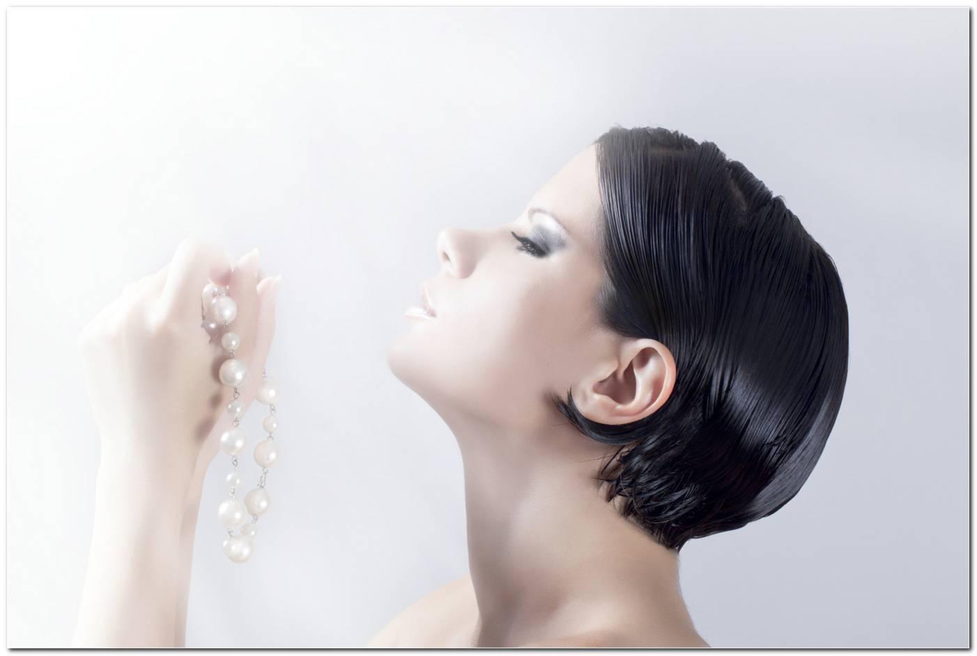 Frisuren Um Fettige Haare Zu Verstecken