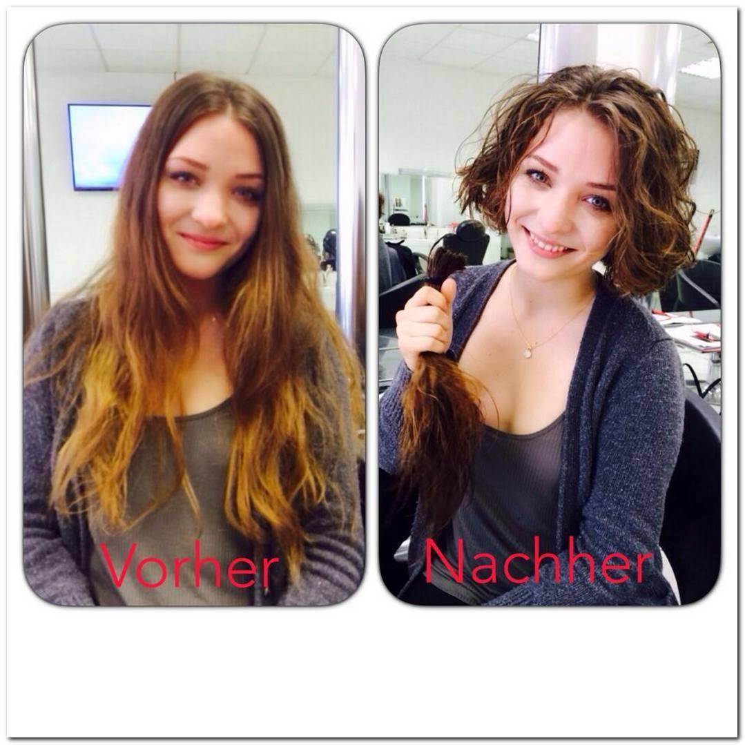 Frisuren Vorher Nachher Kurz