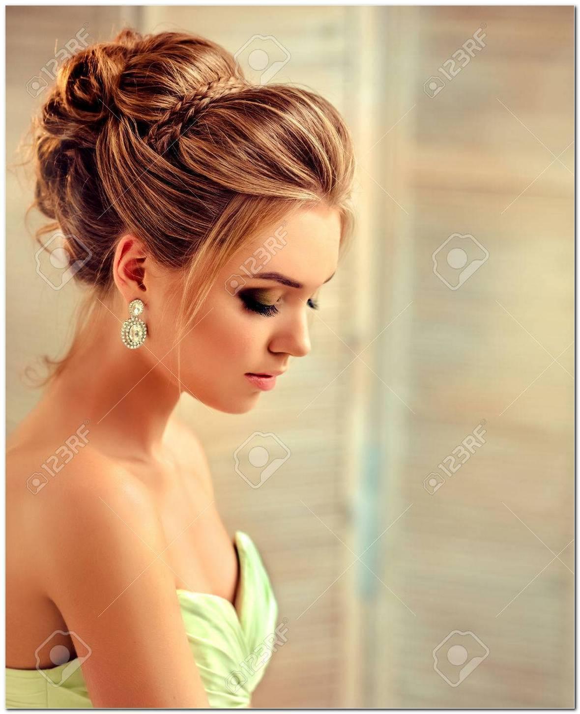 Frisuren Zu Abendkleidern