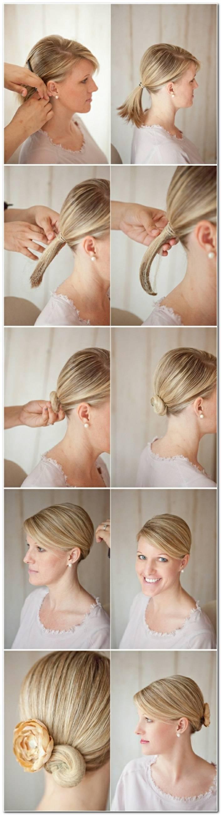 Frisuren Zum Selber Machen FüR Feines Haar
