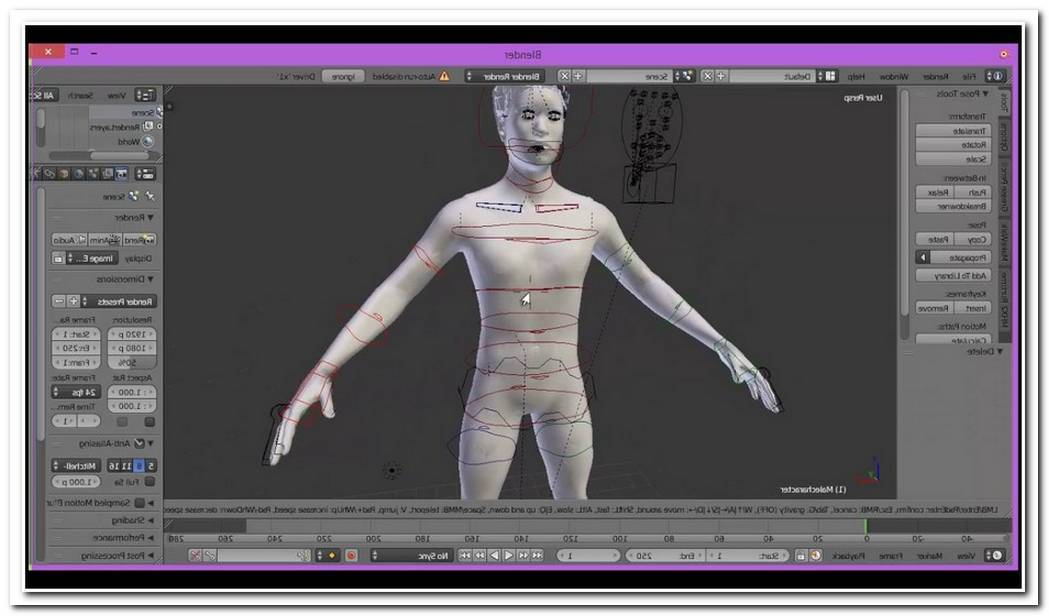From Makehuman To Blender With Ik And Face Controls