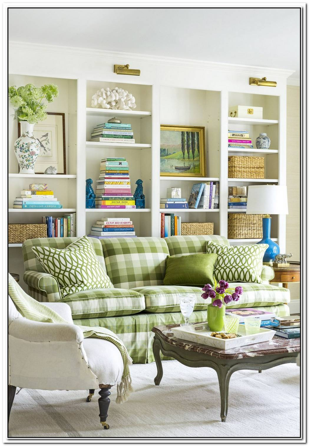 Fun And Sunny Interior Design With Green Accents By Gideon Mendelson
