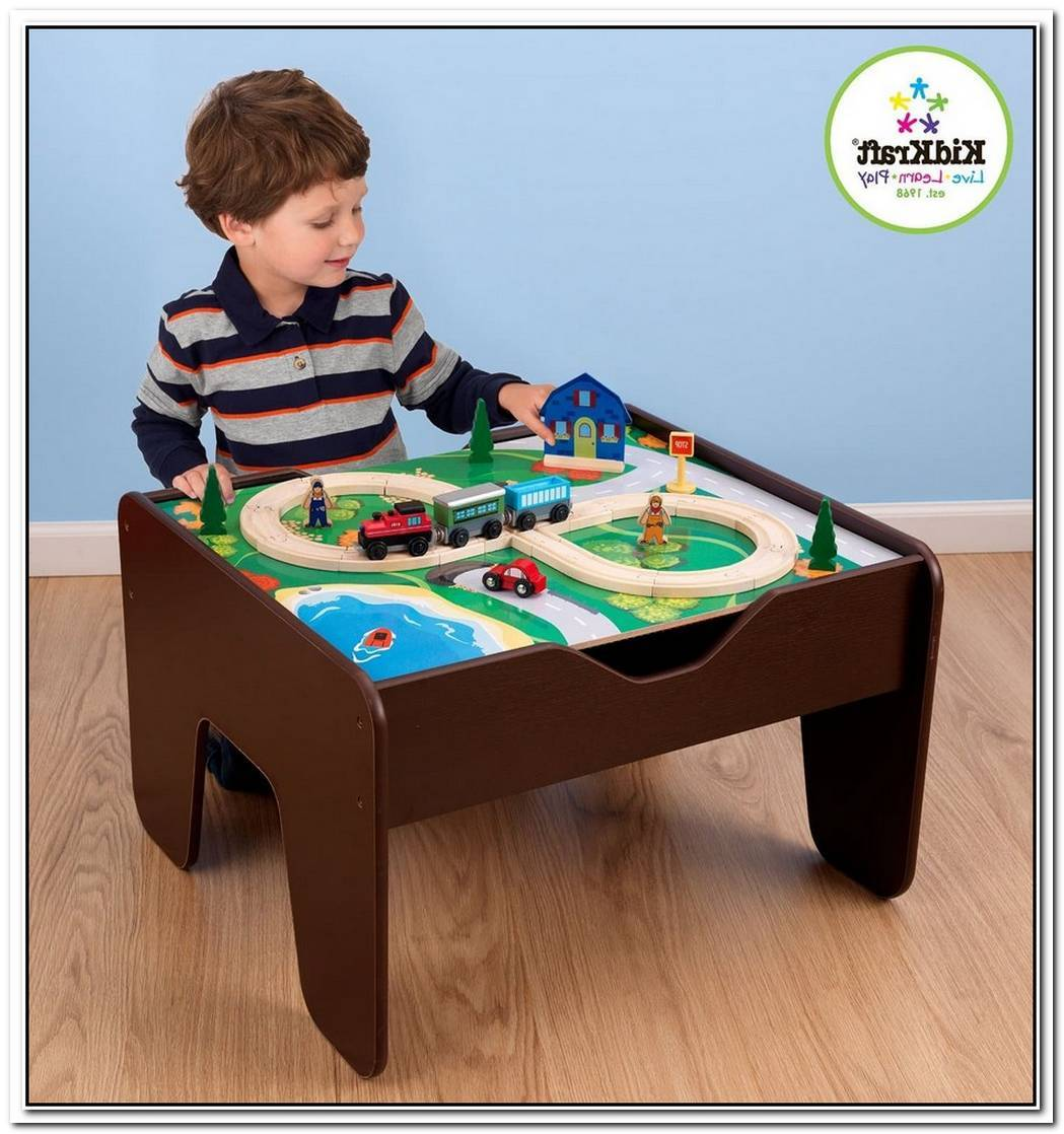Fun Lego Table For Both Parents And Children