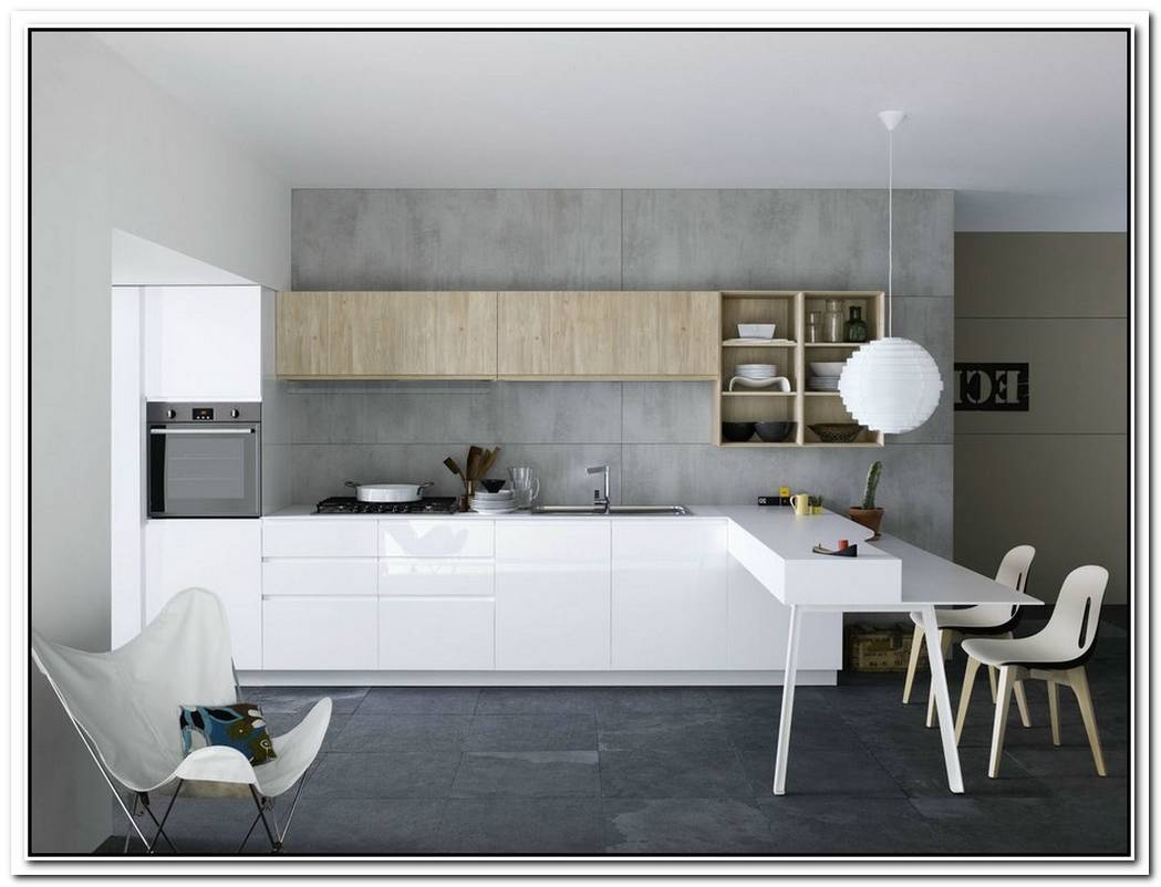 Functional And Fashionable Kitchen Gives Minimalism A Casual Twist