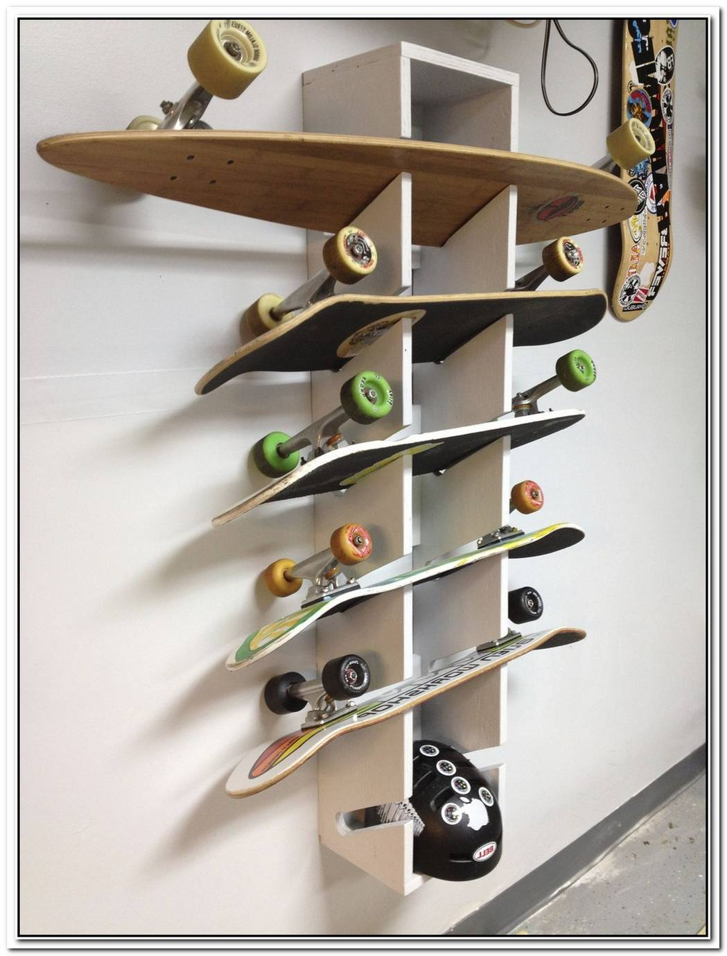 Funny Diy Skateboard Shelves