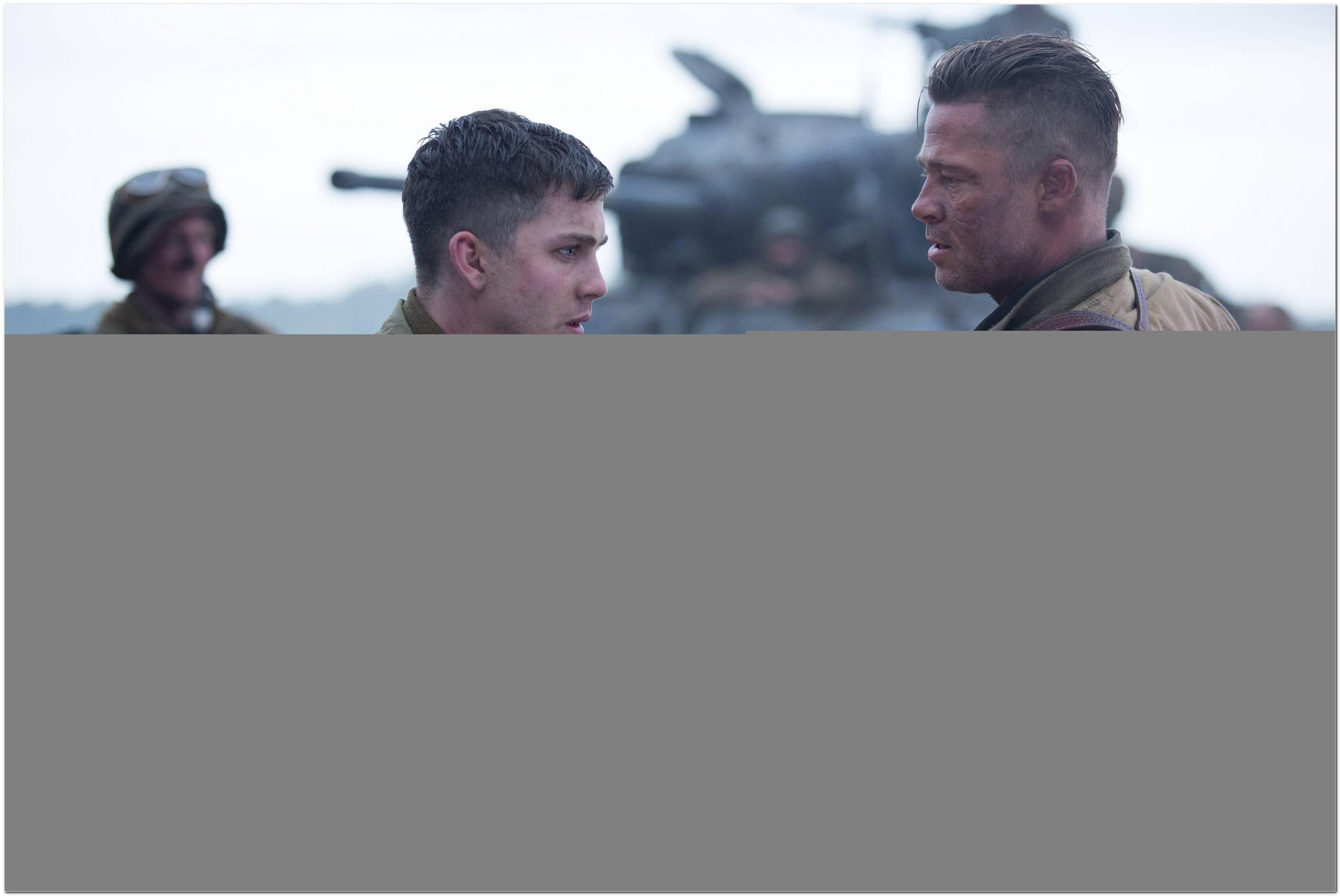 Fury Herz Aus Stahl Brad Pitt Frisur