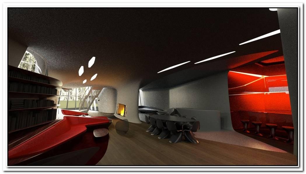 Futuristic House With Space Age Design
