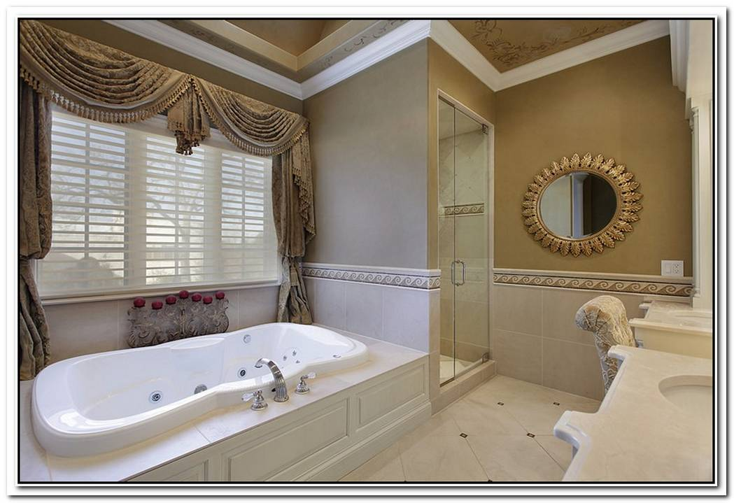 Gallery Cream Contemporary Bathroom