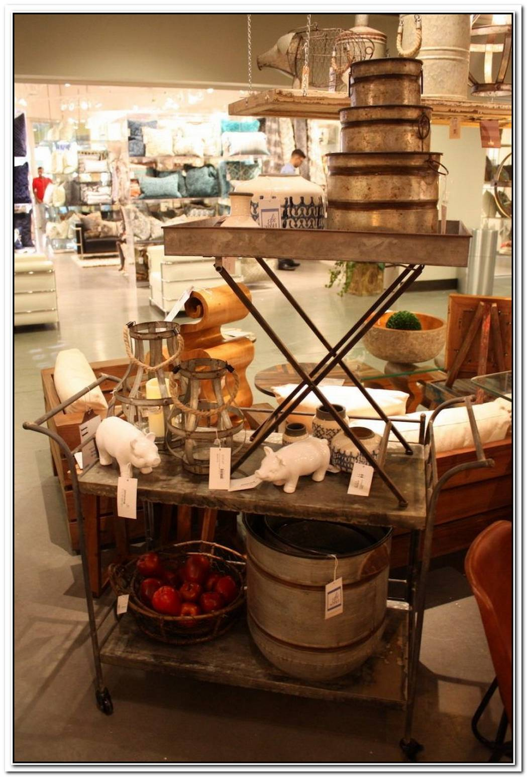 Galvanized Steel Accessories An Easy Element For A Rustic Touch