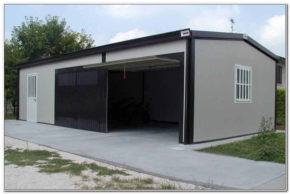 Garage En Panneau Sandwich