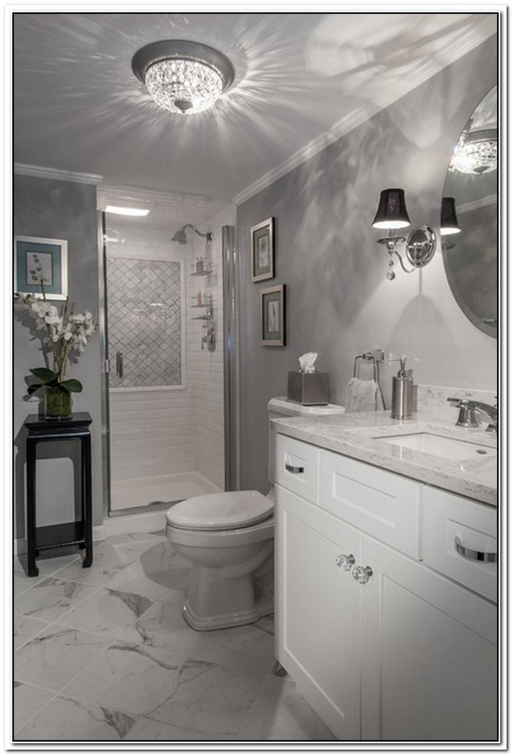 Glam Art Bathroom