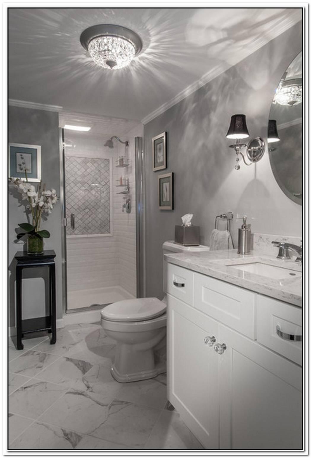 Glam Art Bathroom