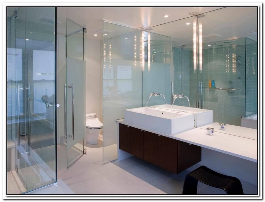 Glass Bathroom Modern Style