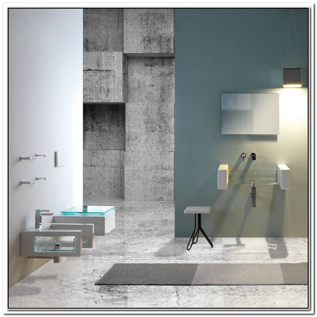 Glass Bathroom Suites By Ceramica Gsg