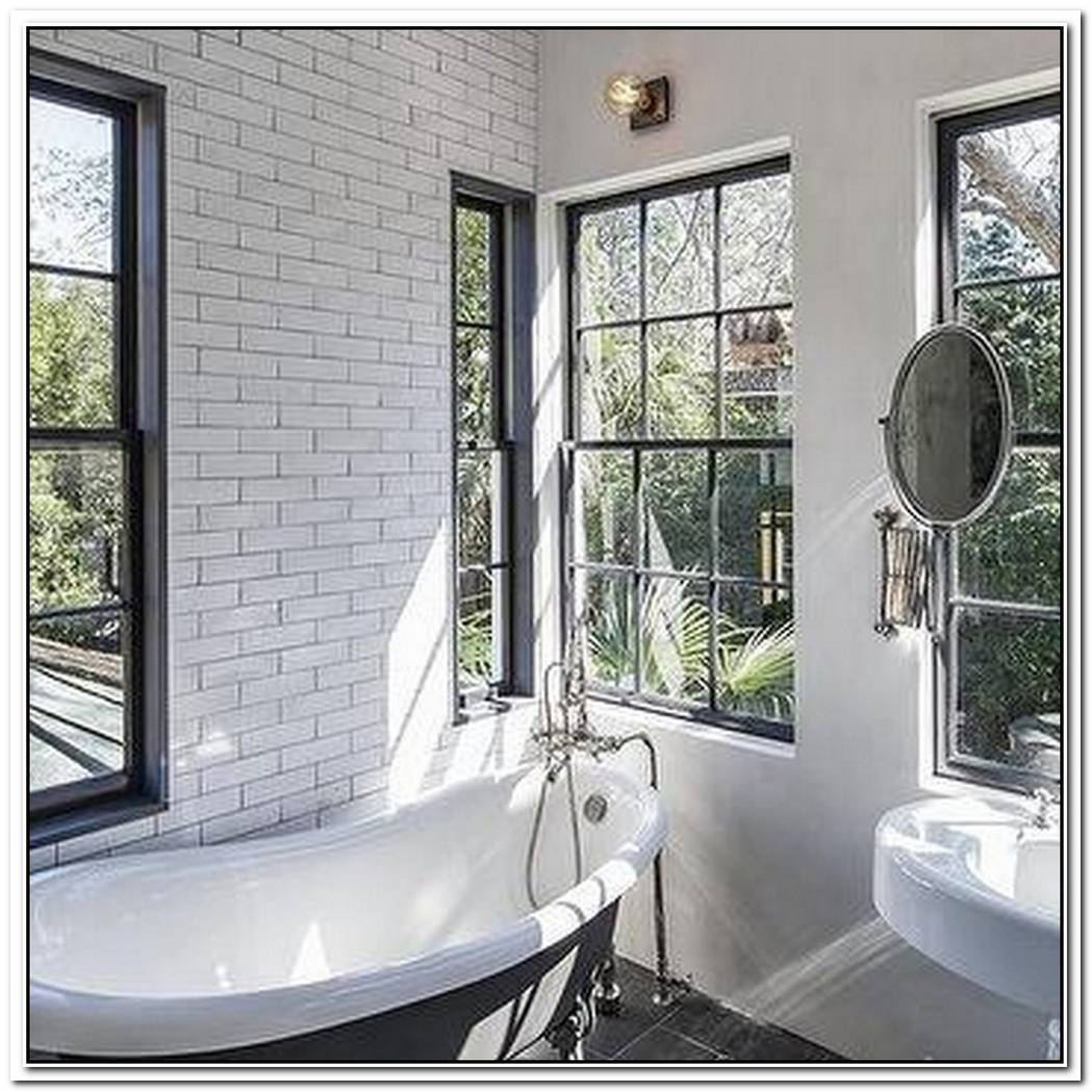 Glazed Bathroom White Tile