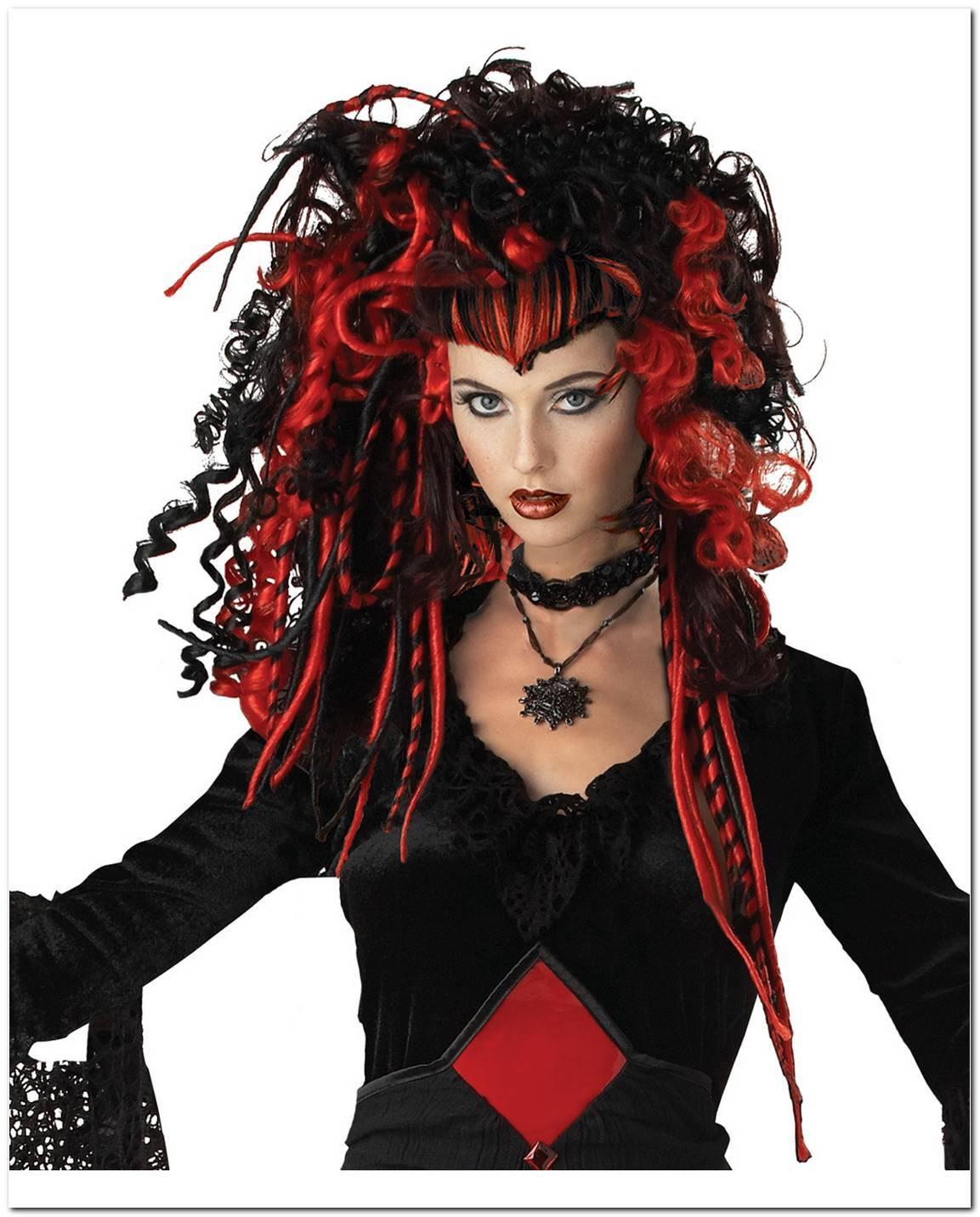 Gothic Frisuren Rot