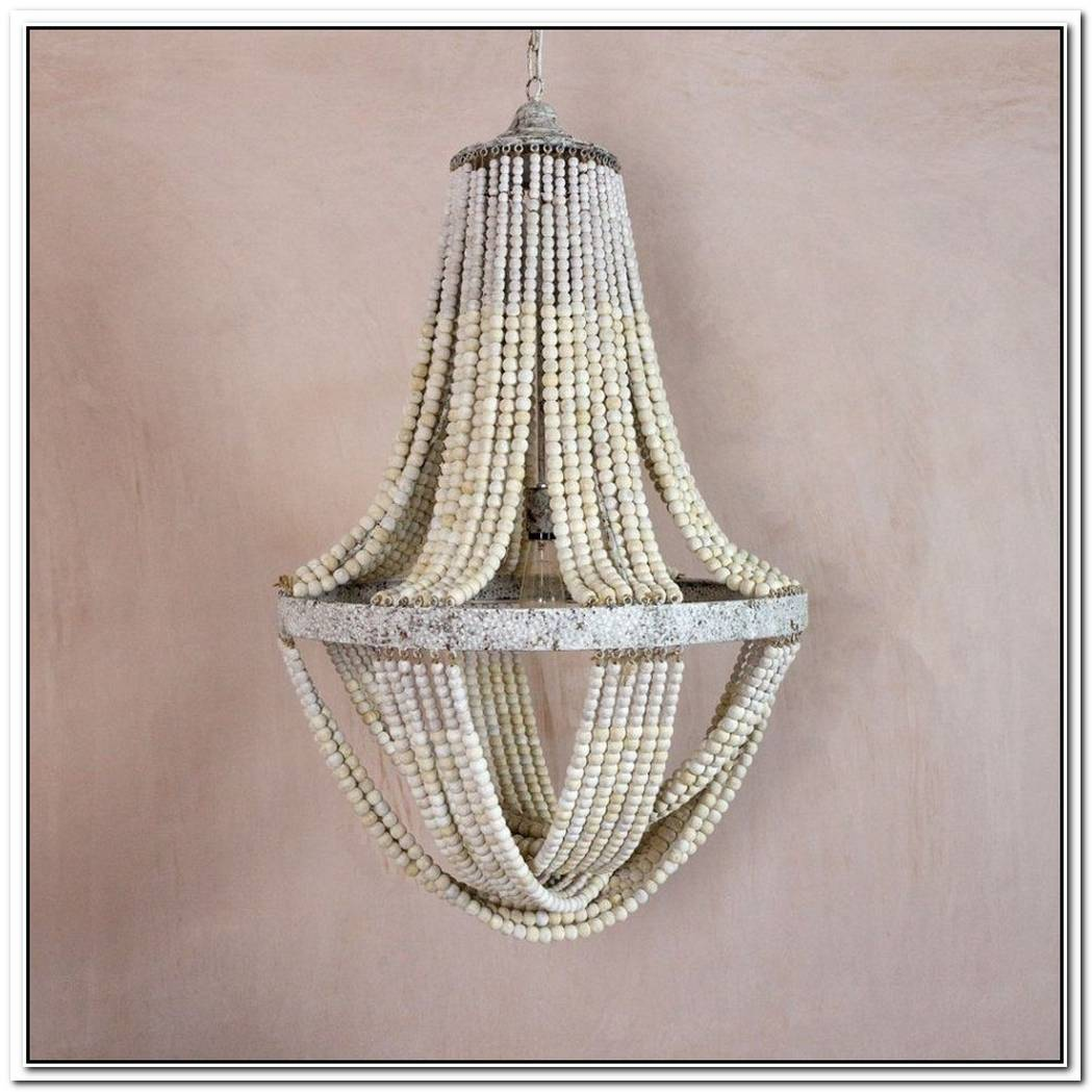Graham Wicker Chandelier