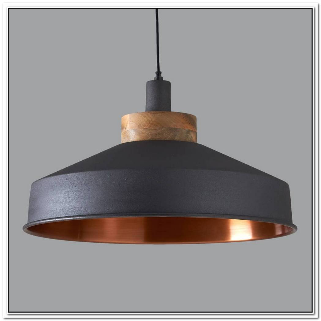 Graphite Pendant Lamp