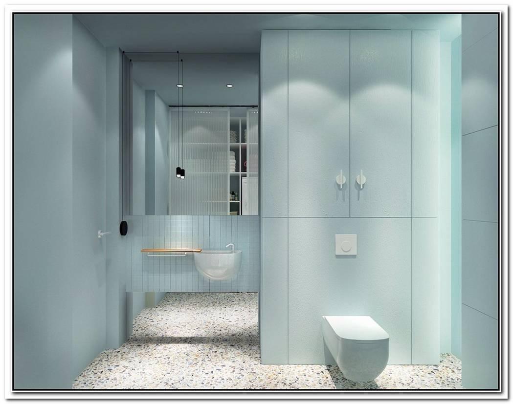 Grey Minimalist Style Minimalist Bathroom