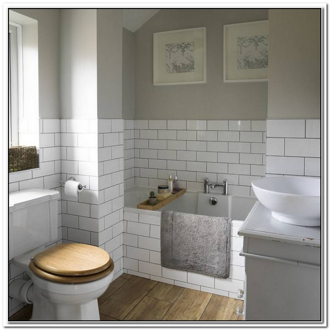Grey Traditional Bathroom Simple Classic