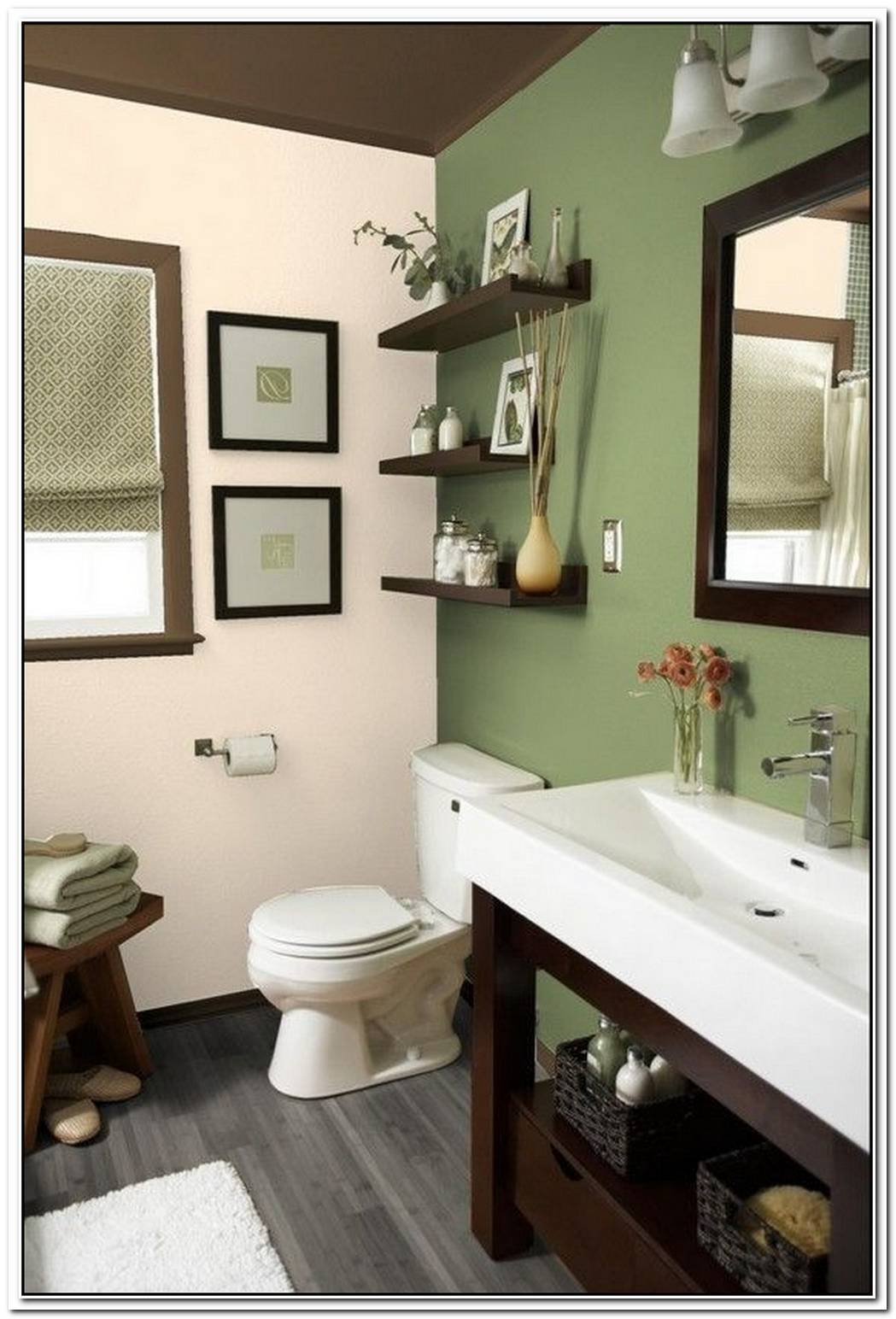Guest Bathroom Taupe