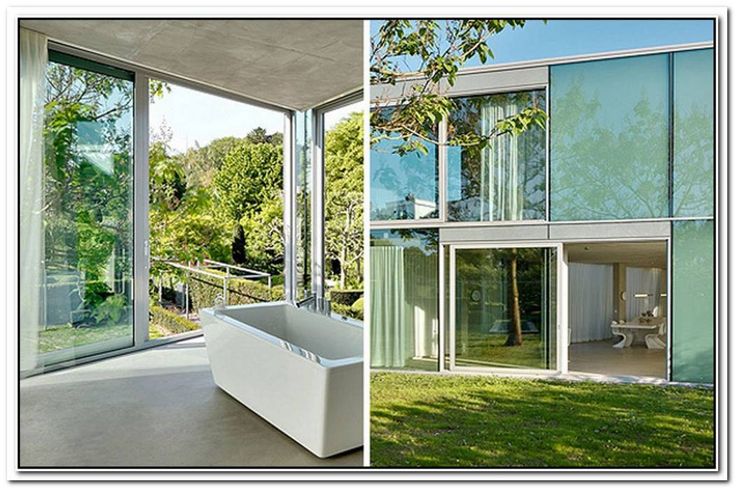 H House By Wiel Arets Architects Is A Beautiful Glass House