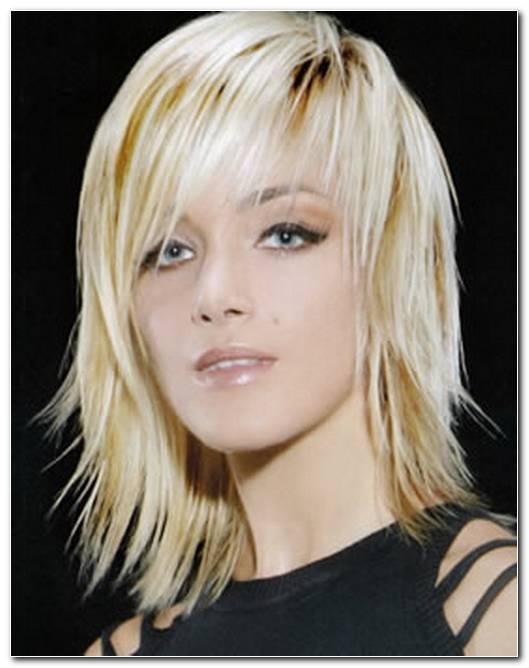 Halblange Frisuren Mit Stufenschnitt
