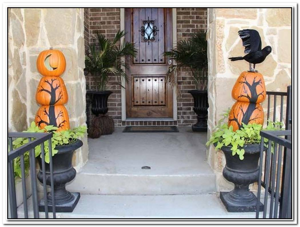 Halloween Porch And Entryway IdeasFrom Subtle To Scary
