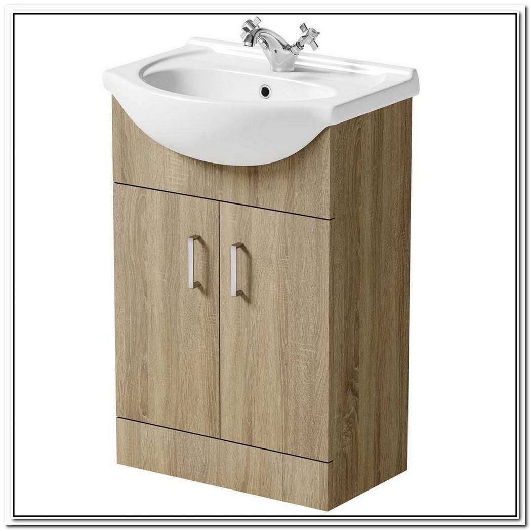 Hampton Oak Washbasin With Drawers
