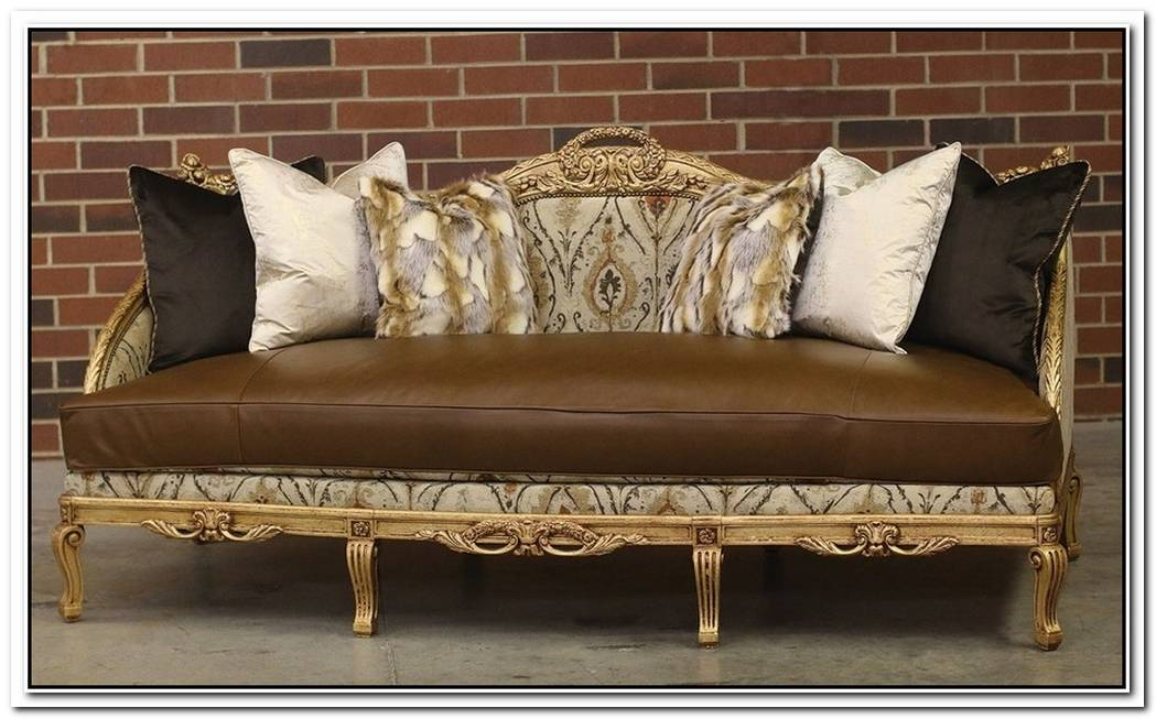 Handmade Midnight Sofa By Old Hickory Tannery
