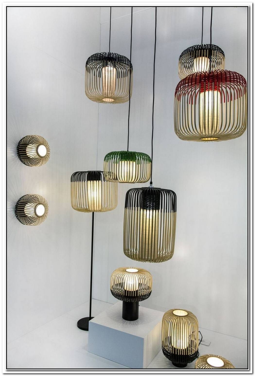 Hanging Lights Draw The Eye Up In Style